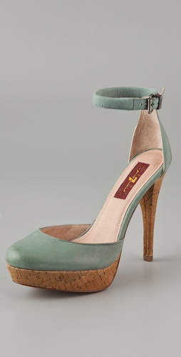 7 For All Mankind Minty Pumps