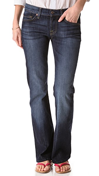 7 For All Mankind Petite Boot Cut Jeans