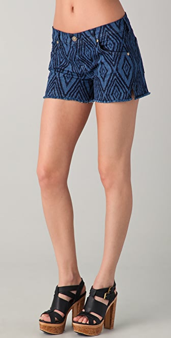 7 For All Mankind Charlie Cutoff Shorts