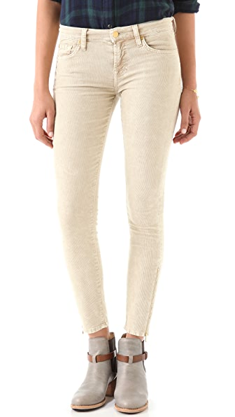 7 For All Mankind The Skinny Zip Corduroy Pants