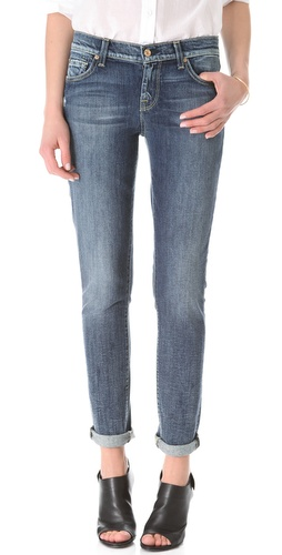 Shop 7 For All Mankind The Slim Cigarette Jeans - 7 For All Mankind online - Apparel,Womens,Bottoms,Jeans, at Lilychic Australian Clothes Online Store
