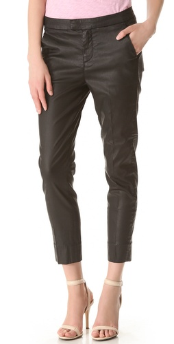 7 For All Mankind Coated Slim Chino Pants