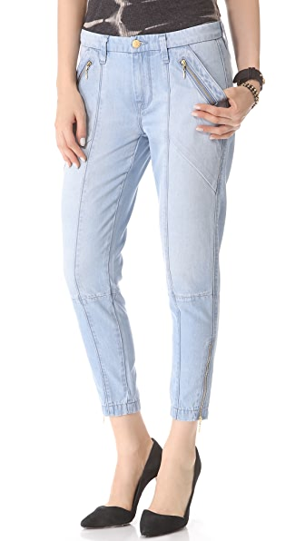 7 For All Mankind Zip Chino Pants