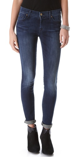 7 For All Mankind The Skinny Jeans with Squiggle Pocket