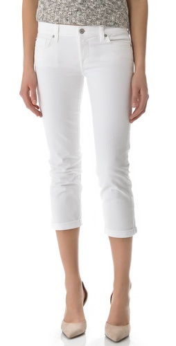 Shop 7 For All Mankind Crop & Roll Jeans and 7 For All Mankind online - Apparel,Womens,Bottoms,Jeans, online Store