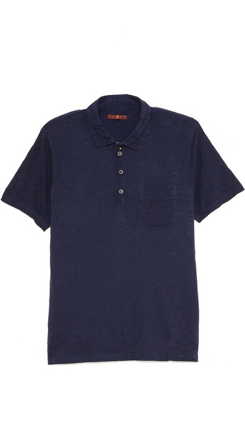 7 For All Mankind Short Sleeve Polo