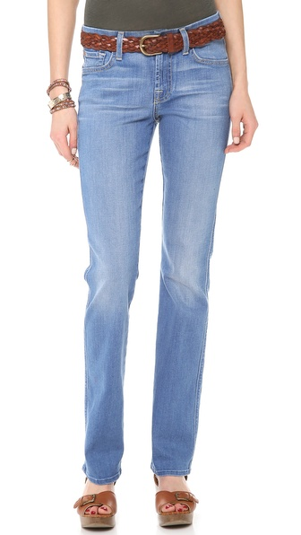 7 For All Mankind Kimmie Straight Leg Jeans