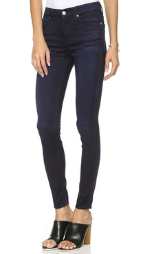 7 For All Mankind The High Rise Skinny Jeans