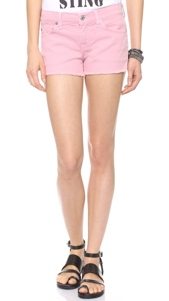 7 For All Mankind Cutoff Twill Shorts