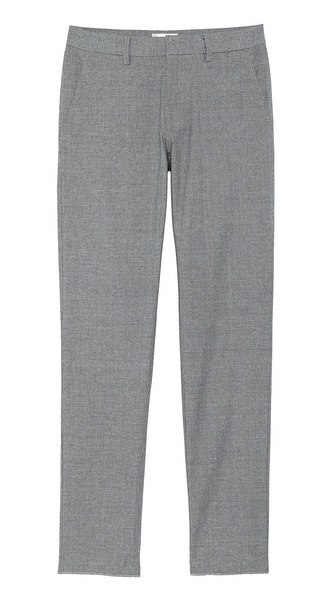 Shades of Grey by Micah Cohen Slim Fit Suit Pants