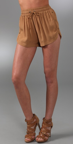 Shakuhachi Utility Snap Shorts