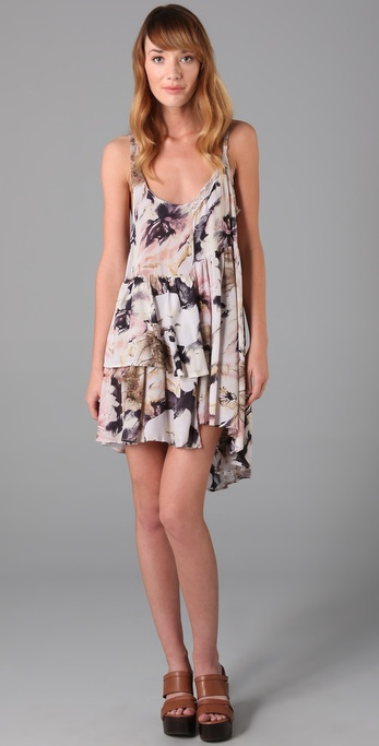 Shakuhachi Day Tripper Tiered Dress