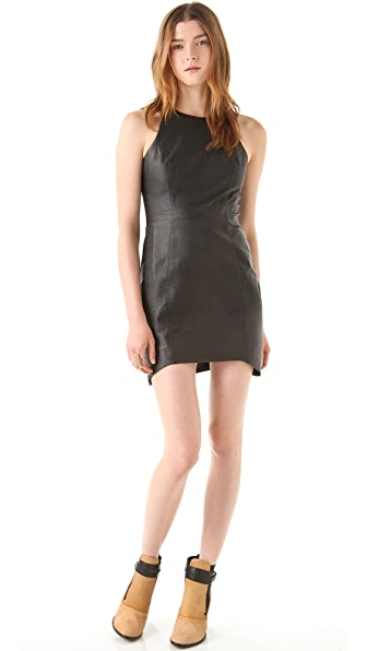 Shakuhachi Leathergoods Shift Dress