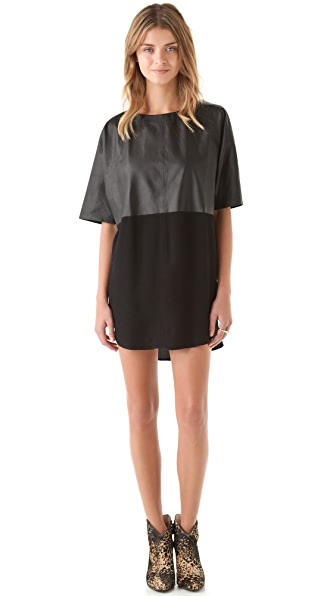 Shakuhachi Luxe Utility Slice Dress