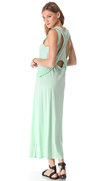 Shakuhachi Jersey Racer Back Maxi Dress