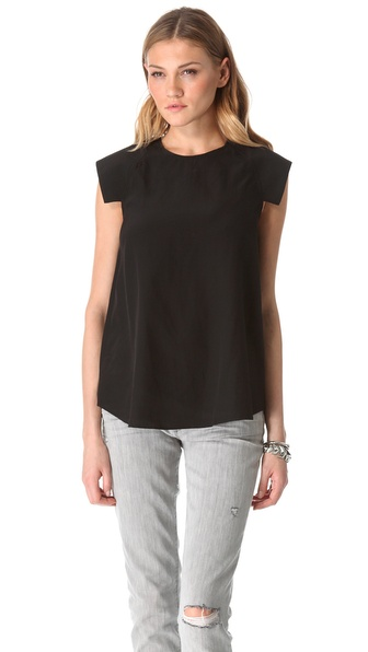 Shakuhachi Structured Shoulder Top