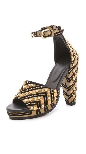 Shakuhachi Harlequin Sandals