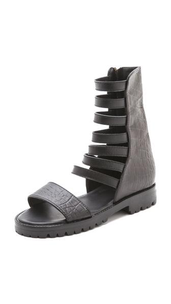 Shakuhachi Gladiator Combat Sandals