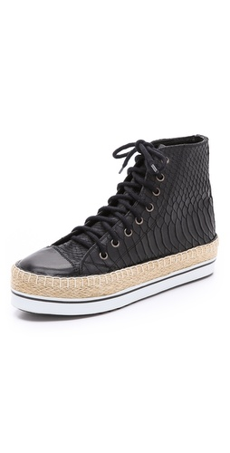 Shakuhachi Python Embossed Sneakers at Shopbop / East Dane