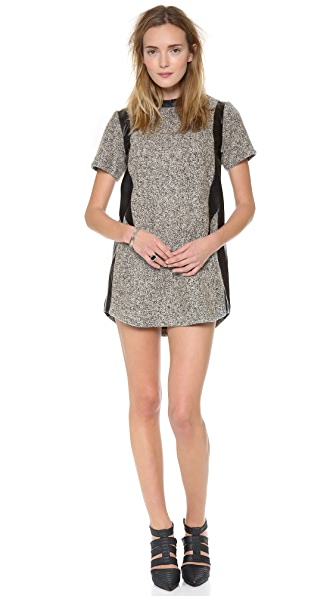 Shakuhachi Tweed Shift Dress