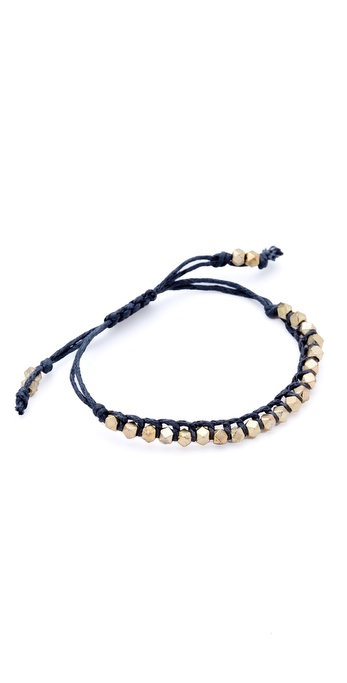 Shashi Petit Nugget Adjustable Bracelet
