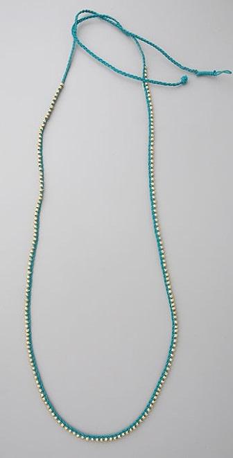 Shashi Golden Nugget Necklace