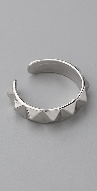 Shashi Rocker Stud Ring