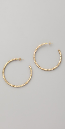 Shashi Golden Nugget Hoops