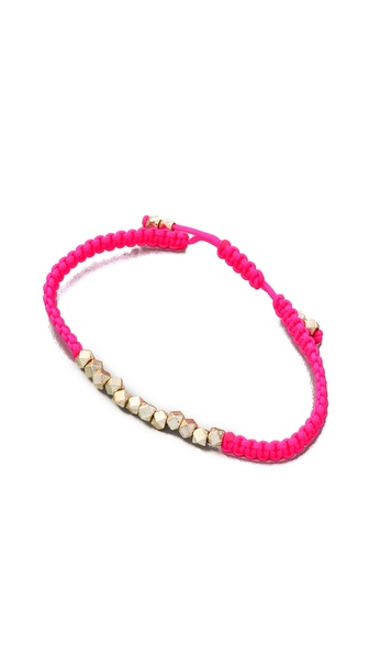 Shashi Neon Nugget Bracelet