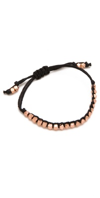 Shashi Rose Gold Nugget Bracelet
