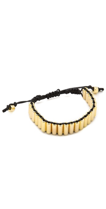 Shashi MIlitary Single Row Bracelet