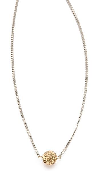Shashi Pave Ball Necklace