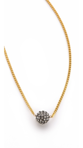 Shashi Pave Ball Necklace