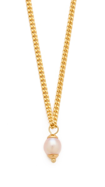 Shashi Pink Necklace with Cultured Freshwater Pearl