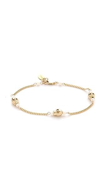 Shashi Skull Chain Bracelet
