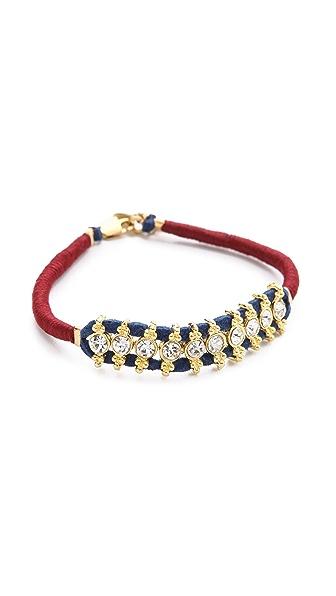 Shashi Ballerina Silk Wrap Bracelet