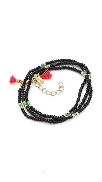 Shashi Eliza Wrap Bracelet