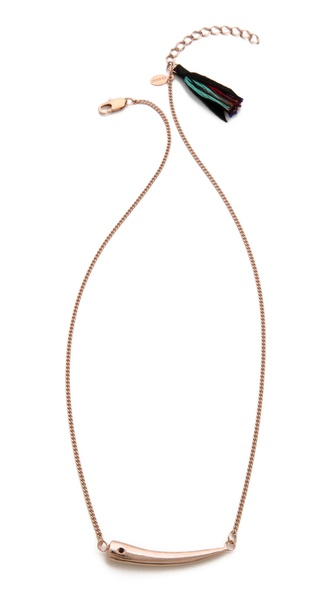 Shashi Horn Necklace