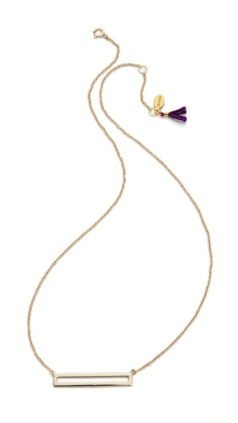 Shashi Open Bar Necklace