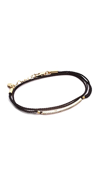 Shashi Bar Wrap Bracelet
