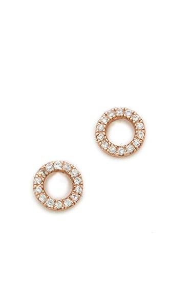 Shashi Circle Earrings