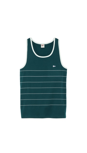 S&H Athletics Lewis Stripe Tank