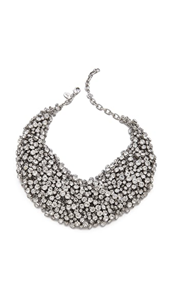 Shay Accessories Crystal Bib Necklace