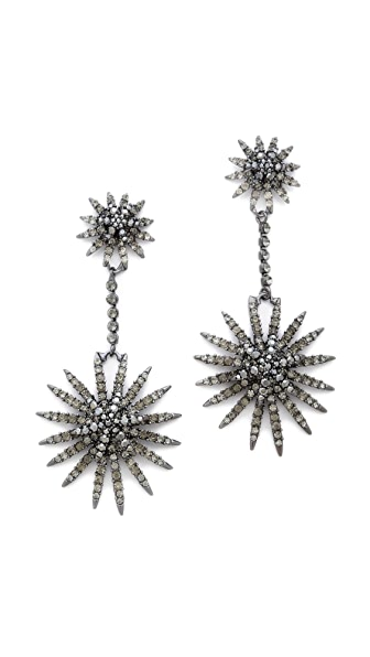 Shay Accessories Starburst Earrings