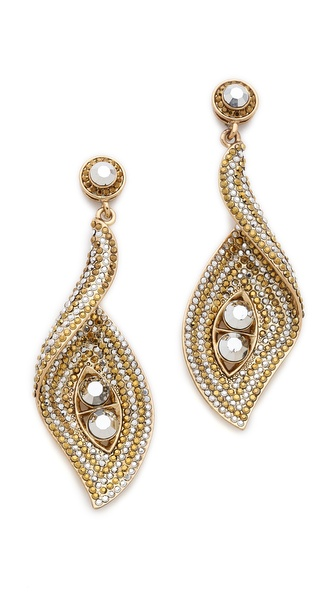 Shay Accessories Wave Turn Earrings