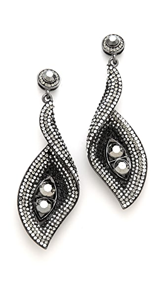 Shay Accessories Wave Turn Earrings