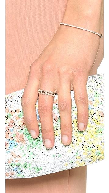Shay 18K 金基础款链式戒指
