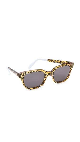Sheriff&Cherry Classic Wild Cat Honey Sunglasses