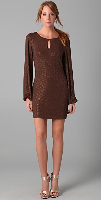 Sheri Bodell Crystal Belle Mini Dress