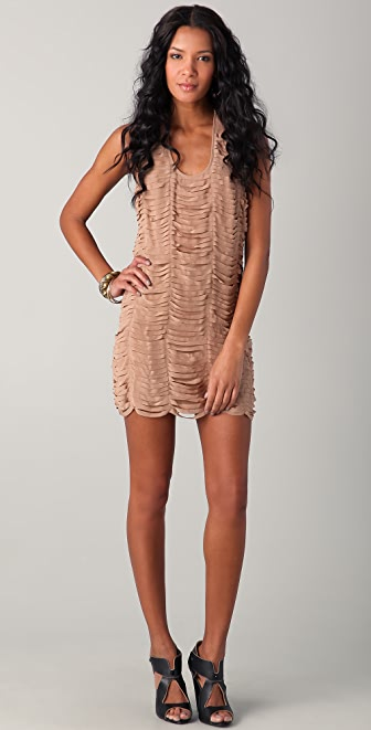 Sheri Bodell Moondust Laser Cut Dress